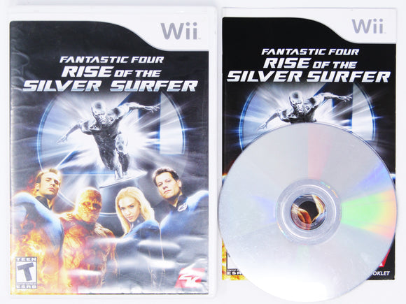 Fantastic 4 Rise of the Silver Surfer (Wii)