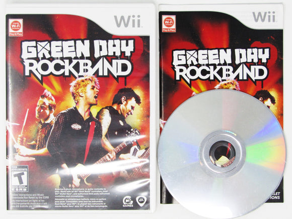 Green Day: Rock Band (Wii)