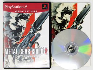 Metal Gear Solid 2 [Greatest Hits] (Playstation 2 / PS2)