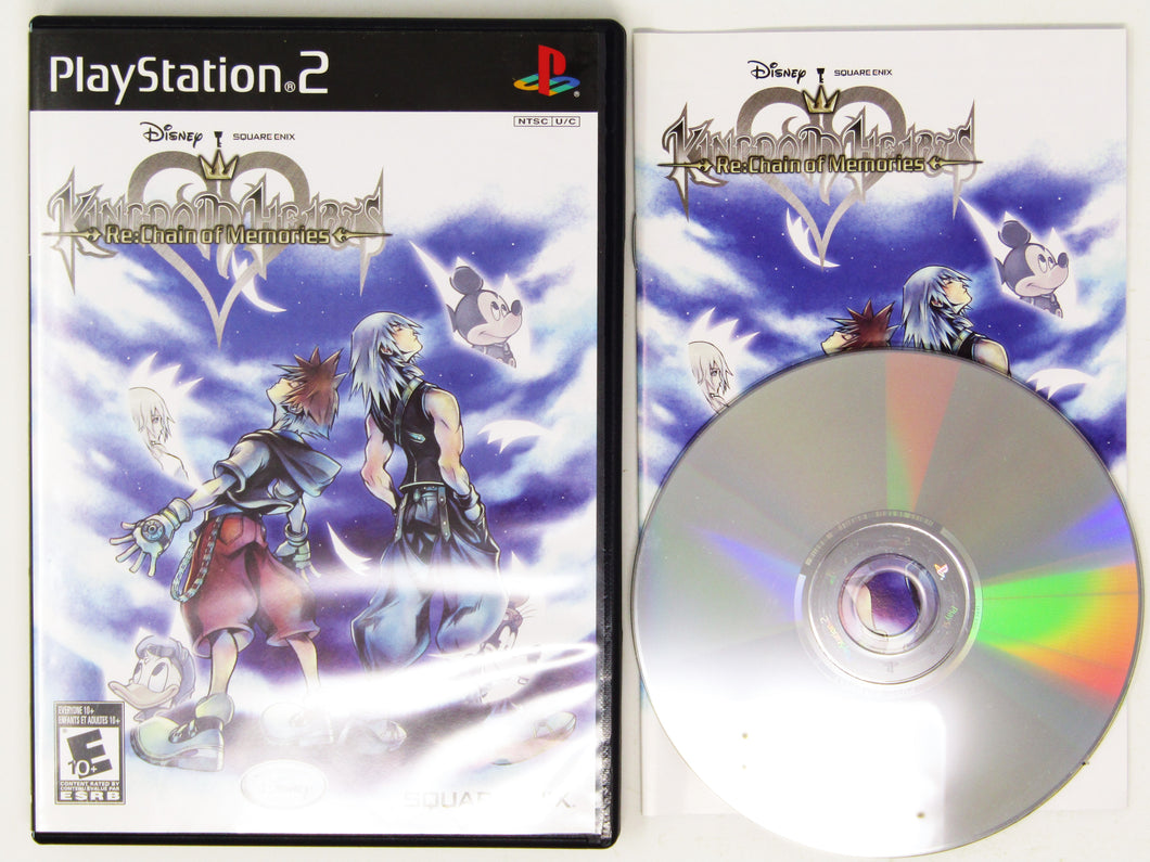 Kingdom Hearts RE Chain of Memories (Playstation 2 / PS2)