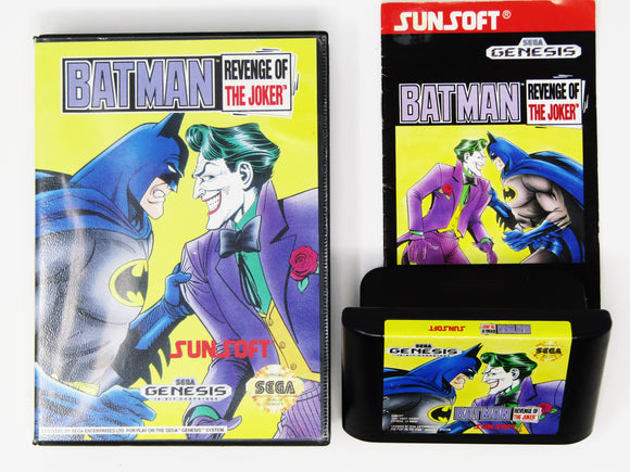 Batman Revenge Of The Joker (Sega Genesis)
