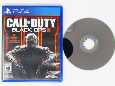 Call of Duty Black Ops III (Playstation 4 / PS4)
