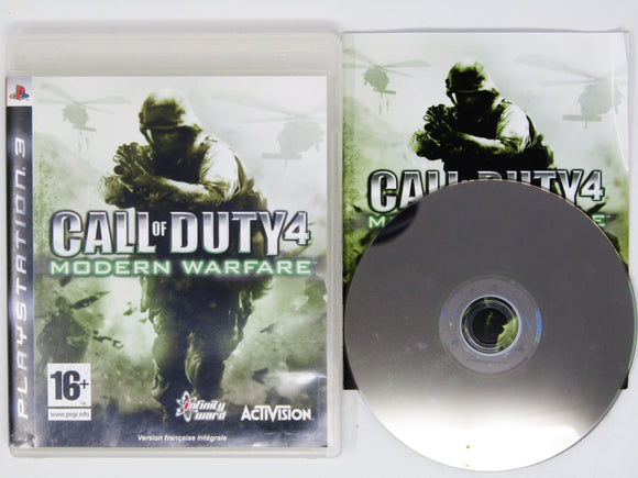 Call Of Duty 4: Modern Warfare [PAL] (Playstation 3 / PS3)