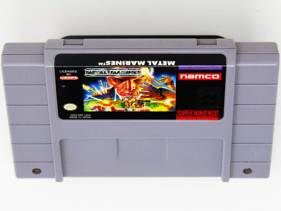 Metal Marines (Super Nintendo SNES)