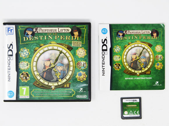 Professor Layton and the Lost Future (PAL) (Nintendo DS)