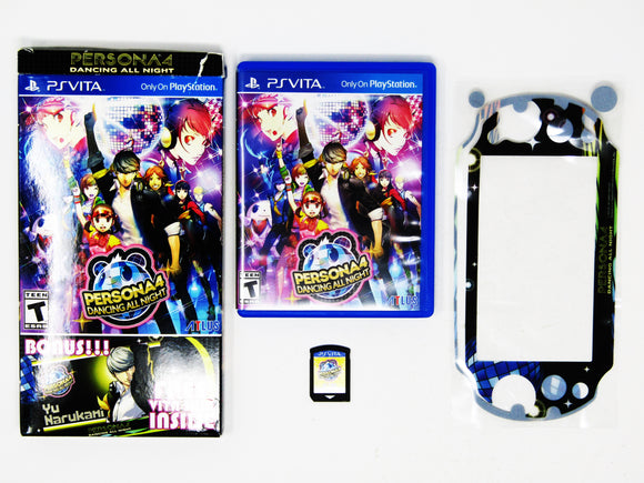 Persona 4 Dancing All Night + Bonus Skin (Playstation Vita / PSVITA)