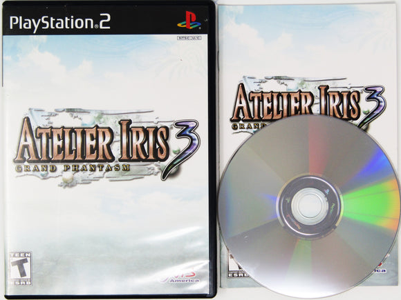 Atelier Iris 3: Grand Phantasm (Playstation 2 / PS2)