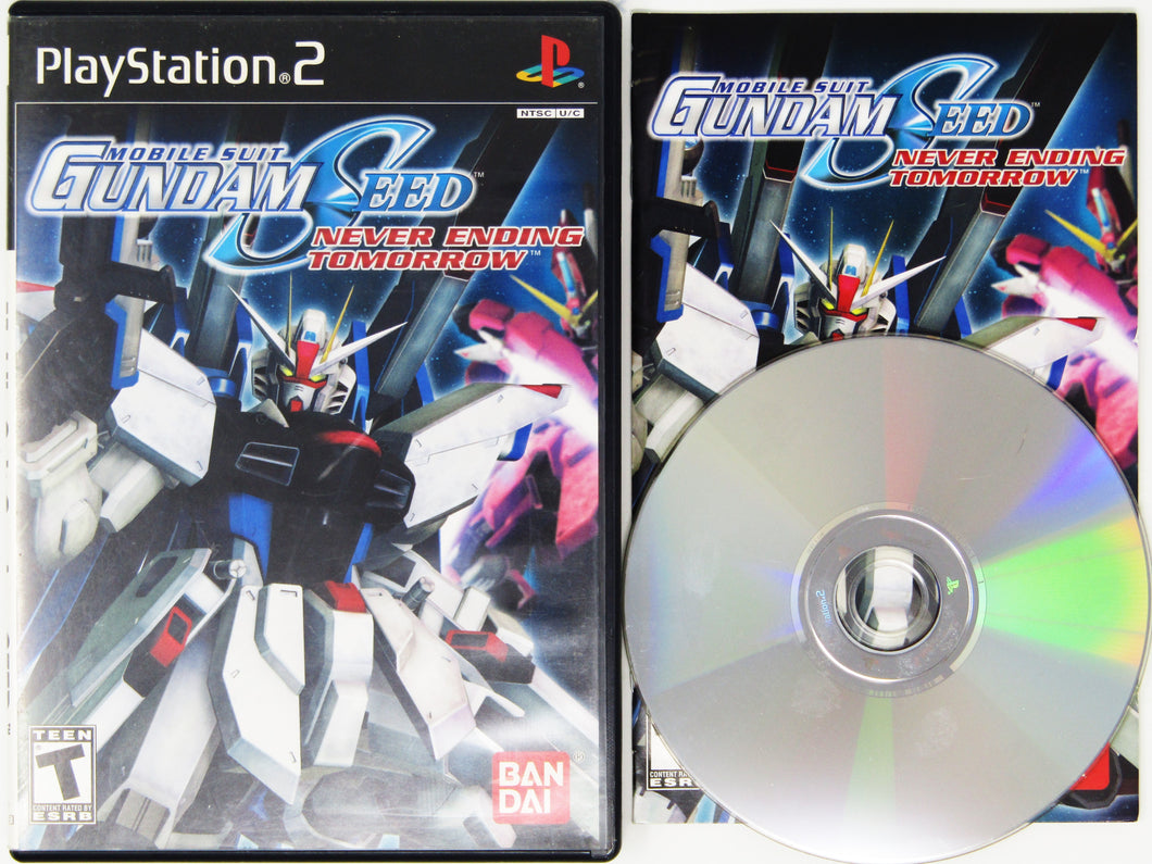 Mobile Suit Gundam Seed: Never Ending Tomorrow (Playstation 2 / PS2)