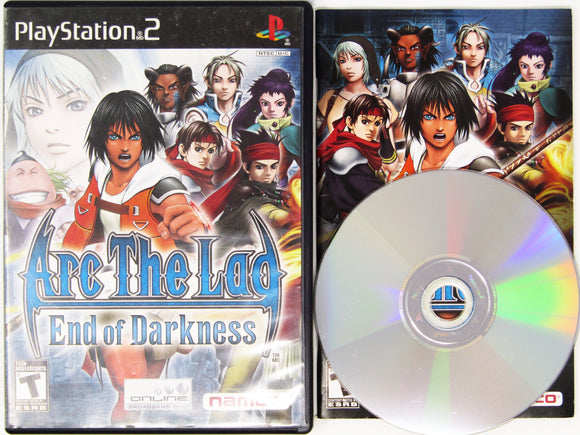 Arc the Lad End of Darkness (Playstation 2 / PS2)