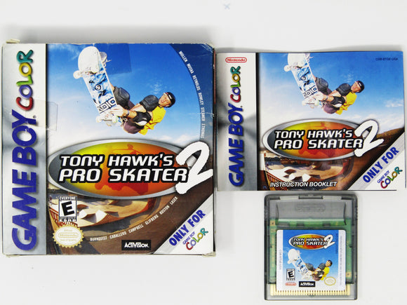 Tony Hawk 2 (Game Boy Color)