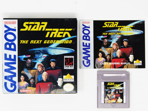 Star Trek The Next Generation (Game Boy)