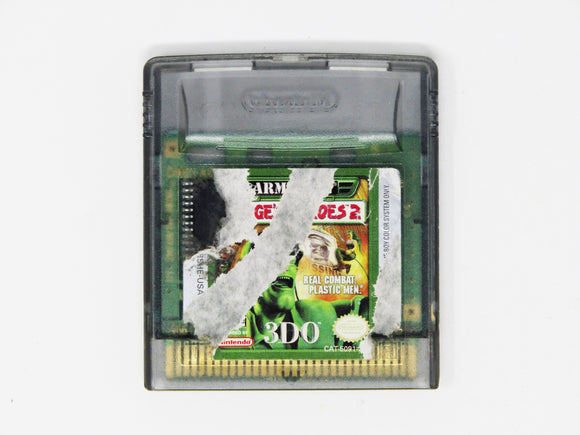 Army Men Sarge's Heroes 2 (Game Boy Color)