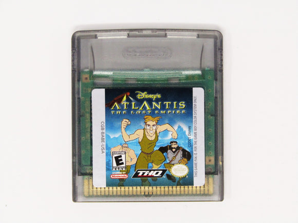 Atlantis The Lost Empire (Game Boy Color)