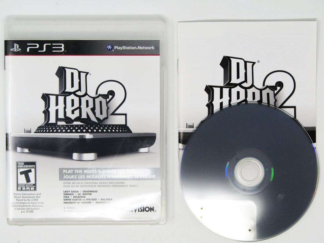DJ Hero 2 (Playstation 3 / PS3)