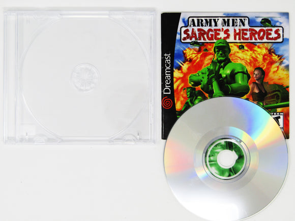 Army Men Sarge's Heroes (Dreamcast)