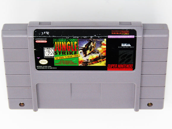 Jungle Strike (Super Nintendo / SNES)