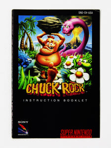 Chuck Rock (Super Nintendo / SNES)