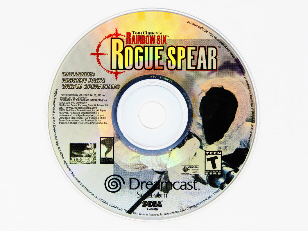 Rainbow Six Rogue Spear (Dreamcast)