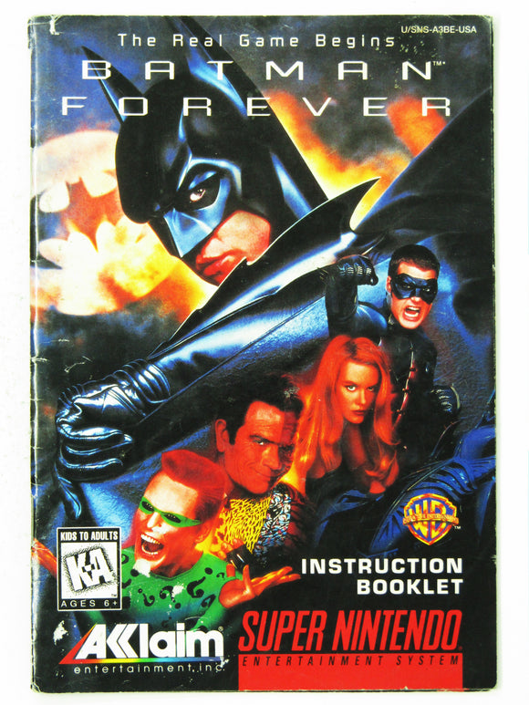 Batman Forever (Super Nintendo / SNES)