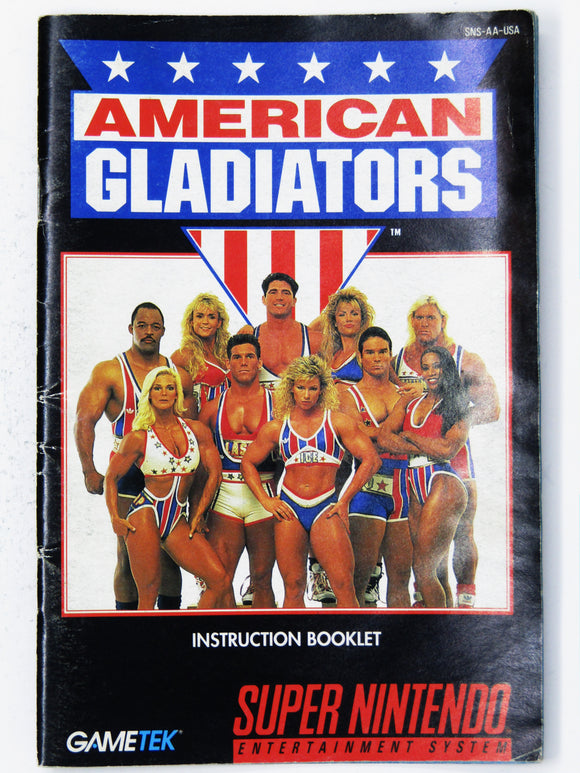 American Gladiators (Super Nintendo / SNES)