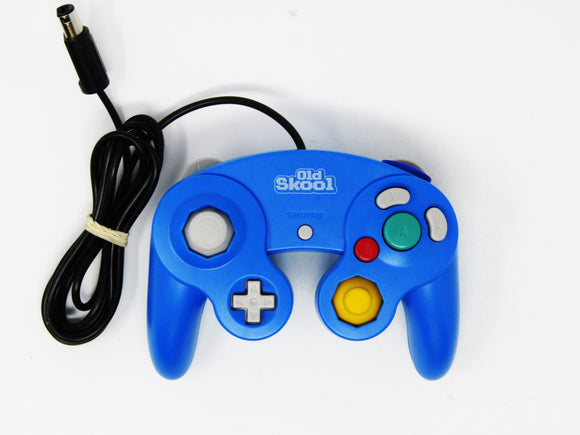 Blue Gamecube/Wii Wired Controller [OldSkool]