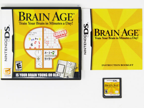 Brain Age (Nintendo DS)