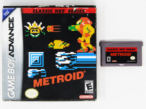 Metroid Classic NES series (Game Boy Advance / GBA)
