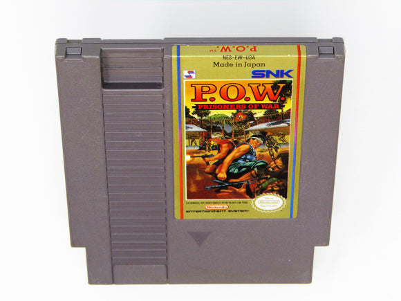 POW Prisoners of War (Nintendo / NES)