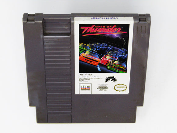 Days Of Thunder (Nintendo / NES)