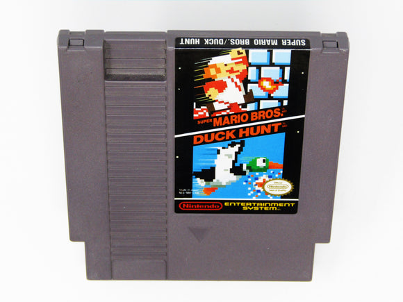 Super Mario Bros and Duck Hunt (Nintendo / NES)