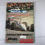 Newman Haas Indy Car Featuring Nigel Mansell (SNES) (Manual)