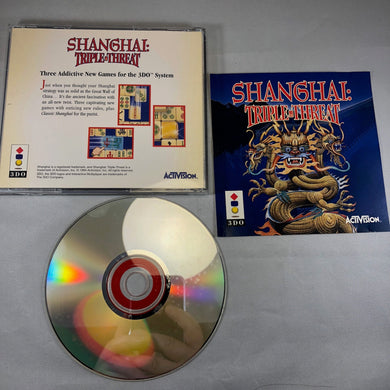 Shanghai: Triple Threat (3DO)