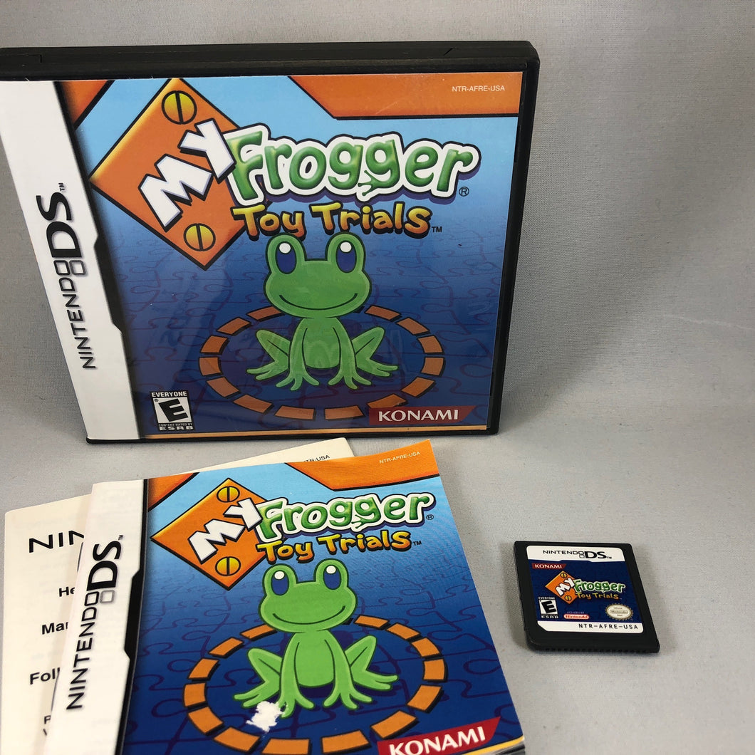 My Frogger Toy Trials (Nintendo DS)
