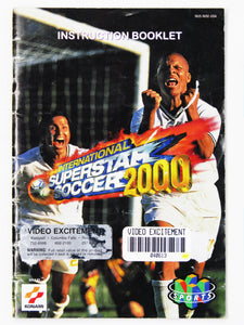 International Superstar Soccer 2000 (Nintendo 64 / N64)