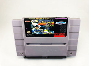 Super Baseball Simulator 1.000 (Super Nintendo SNES)