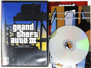 Grand Theft Auto III 3 Double Pack [Greatest Hits] (Playstation 2 / PS2)