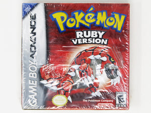 Pokemon Ruby (Game Boy Advance / GBA)