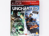 Uncharted & Uncharted 2 Dual Pack (Playstation 3 / PS3)