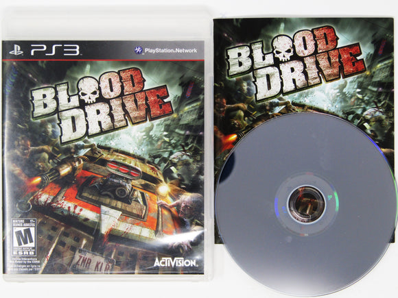 Blood Drive (Playstation 3 / PS3)