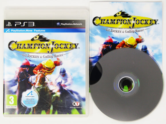 Champion Jockey: G1 Jockey & Gallop Racer (PAL) (Playstation 3 / PS3)