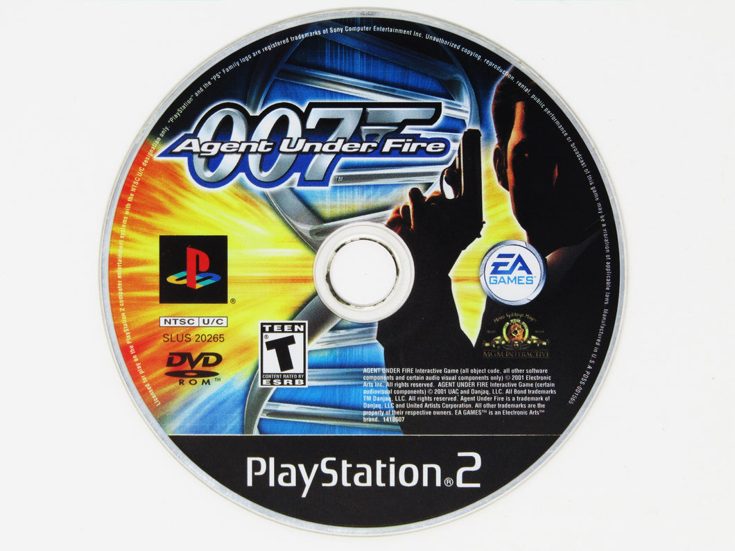 007 Agent Under Fire (Playstation 2 / PS2)