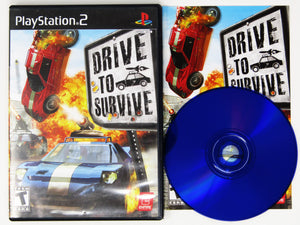 Drive To Survive (Playstation 2 / PS2)