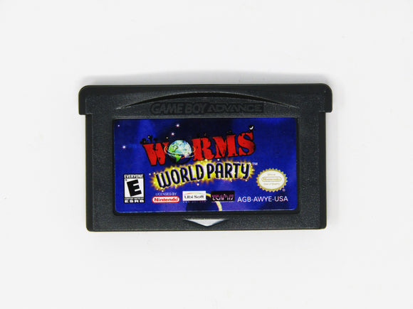 Worms World Party (Game Boy Advance)