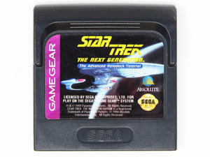 Star Trek the Next Generation Advanced Holodeck Tutorial (Game Gear)