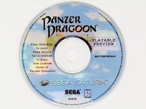 Panzer Dragoon (Playable Preview) (Sega Saturn)