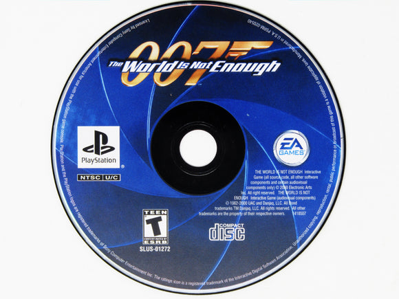 007 World is Not Enough (Playstation / PS1)