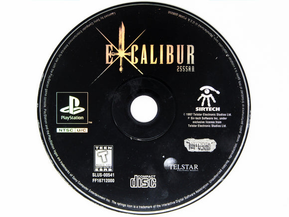 Excalibur 2555 AD (Playstation / PS1)