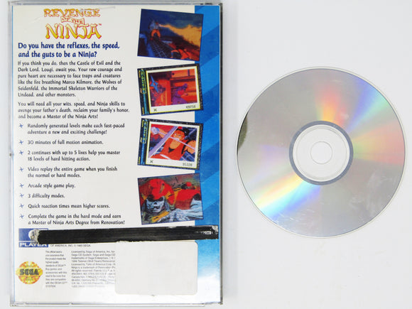 Revenge of the ninja (Sega CD)