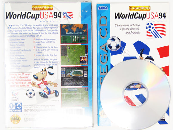 World Cup USA 94 (Sega CD)