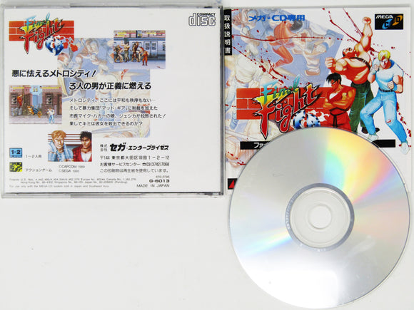 Final Fight (JP Import) (Sega CD)